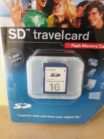 Cartão de memória SD 2Gb (novo)