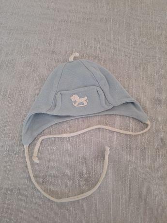 Czapka dla noworodka, czapeczka dla chłopca.