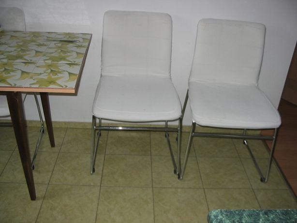 Krzesło białe na taras
