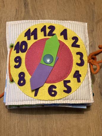 Książka sensoryczna wykonana ręcznie na zamówienie
