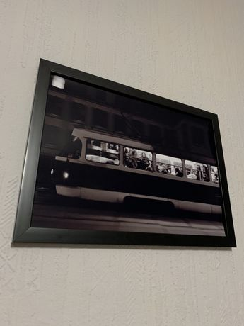 Фото картина в рамке со стеклом