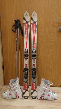 Zestaw narciarski dla dziecka