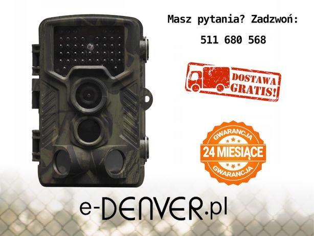 Fotopułapka Denver WCT-8010 FullHD 42xIR Kamera leśna czujnik ruchu