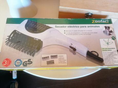 Secador elétrico para animais novo