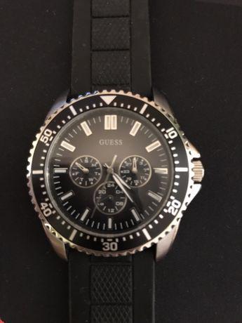 Часы 90053 guess каучуковый ремешок