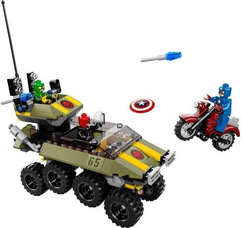 LEGO, оригинал. Капитан Америка, Marvel, 76017 hydra, бронетранспортер