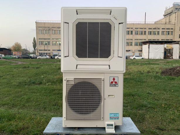 Инверторный кассетный кондиционер Mitsubishi Electric 24 (до 100 м2)