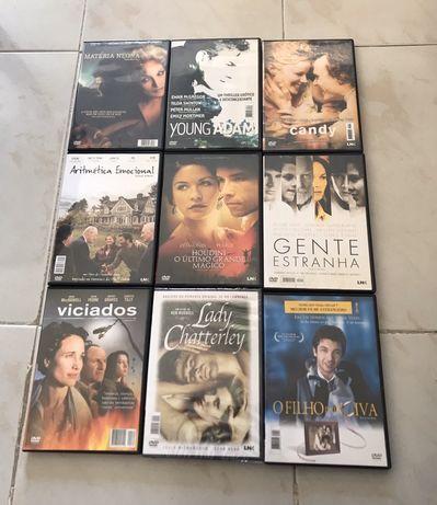 Lote de Filmes em DVD, Filmes ação, filmes comédia, filmes drama