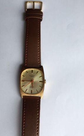 Relógio mecânico (a corda) antigo, Cauny Swiss
