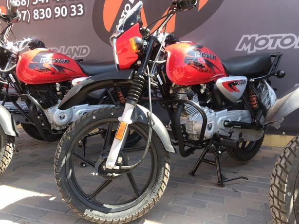 Мотоцикли Bajaj Boxer 125/150/150X. Гарантія 2 роки