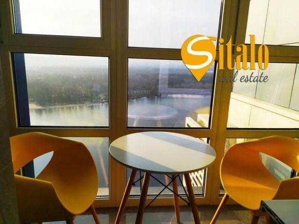 2 комнатная квартира с видом на Днепр, ЖК Солнечная Ривьера