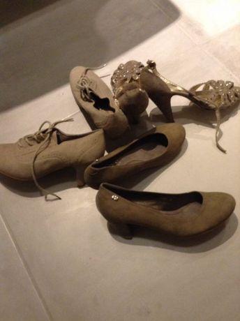3 pary nowych butów
