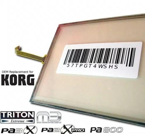 Touch Screen/Panel Dotykowy/dotyk KORG M3,PA800,PA3X,PA2XPRO,TRITON