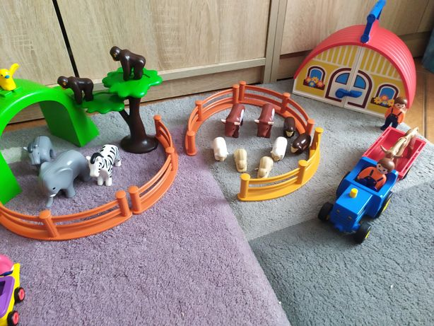 Playmobil zestaw, farma safari