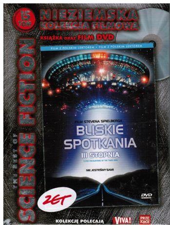 dvd Bliskie Spotkania 3 Stopnia, tom 15, nowe, zafoliowane