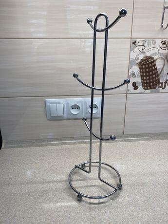 Подставка для чашек металлическая