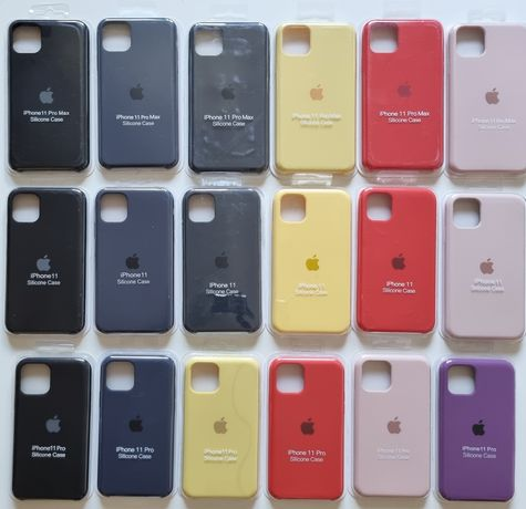 Etui Apple Silicone Case Iphone 12 pro max 12 mini 11 pro max