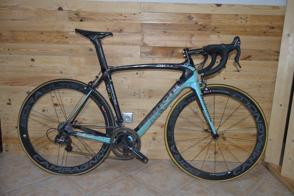 Bicicleta Bianchi oltre xr2 Carbono - campagnolo record - Tamanho 55 União de Freguesias da cidade de Santarém - imagem 1