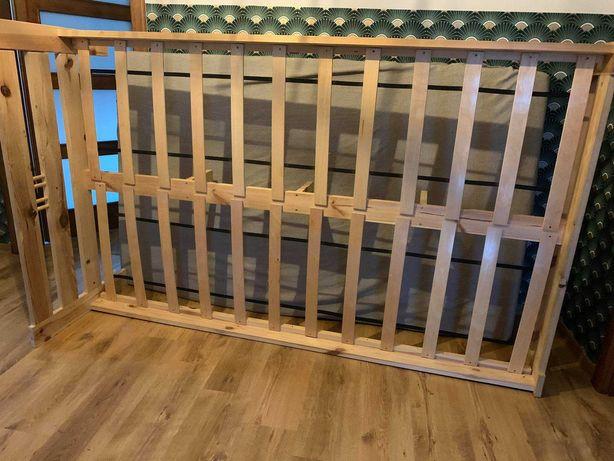 Łóżko 140 x 200cm sosnowe