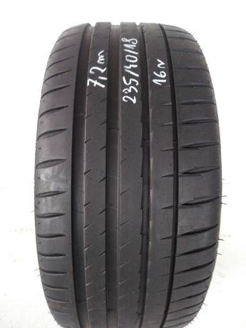 Opona 235/40R18 Michelin Pilot Sport 4  7.2mm