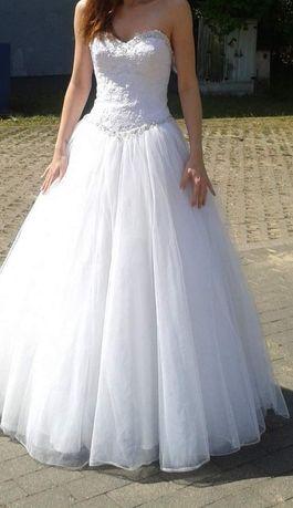 Suknia ślubna princesska rozm 36
