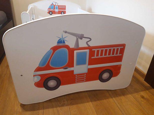Łóżko dla chłopca straż pożarna