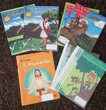 Livros de Educação Moral e Religiosa do 2º ao 6º Ano