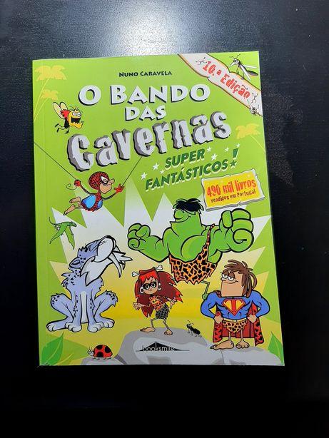 Livro Bando das Cavernas