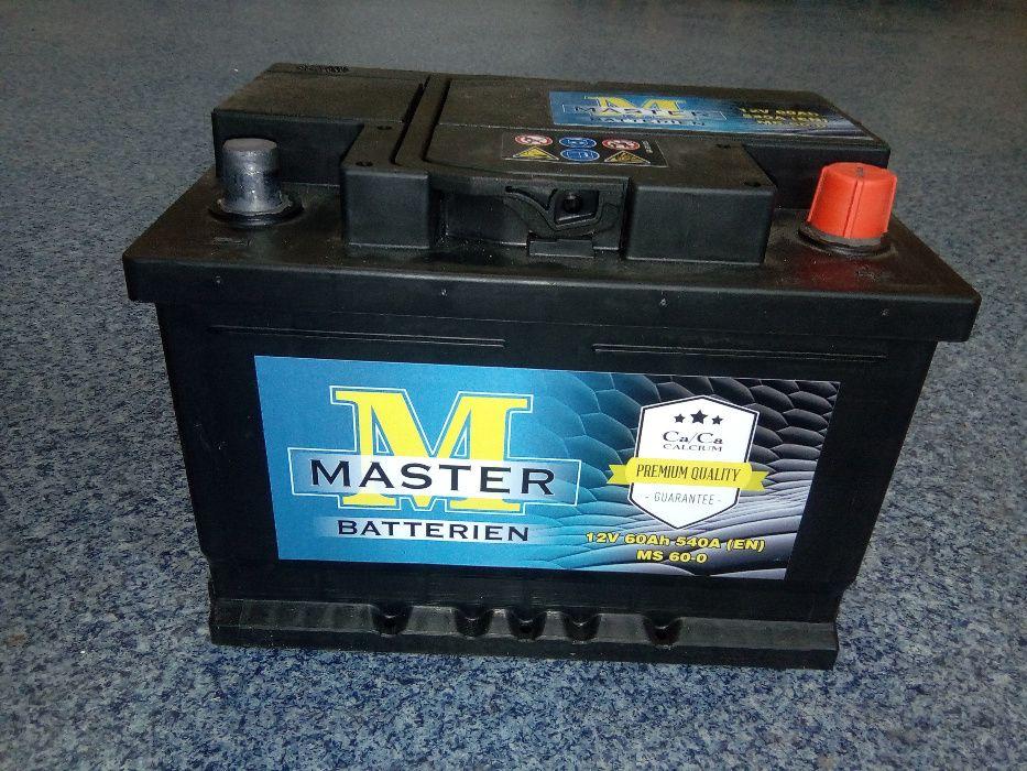 Akumulator MASTER VARTA 12V 60Ah 540A Brzeziny Brzeziny - image 1
