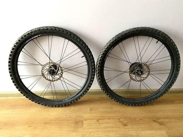 [Dostępne do 05.03.] Koła rowerowe + dętki + opony 26x2.10