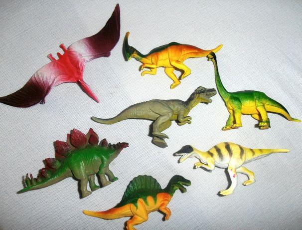 Набор фигурок динозавров Динозавры 7 шт