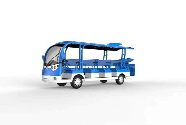 NOWY! Elektryczny pojazd Delfin 14os. 2020r. Gwarancja! Melex Meleks