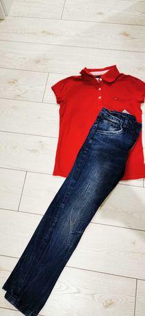 Koszulka Tommy plus spodnie 140