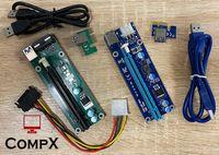 расширитель для видеокарт PCI-E Riser 16x USB 3.0 (майнинг) Райзер