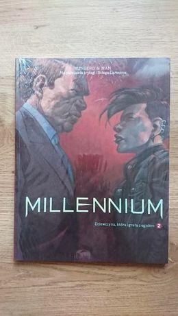 Komiks pt Millennium Dziewczyna, która igrała z ogniem tom 2
