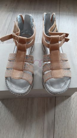 Sandałki dziewczęce, rozmiar 31