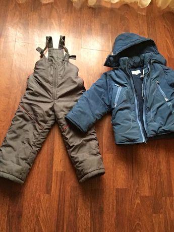 Куртка и комбинезон зима очень теплая!