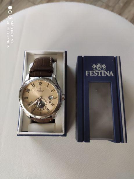 Zegarek klasyczny męski retro Festina F16486 F16486/2