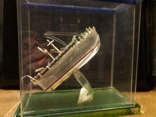 Модель катера торпедного времен СССР,  сделана отслужившим 3 года на т