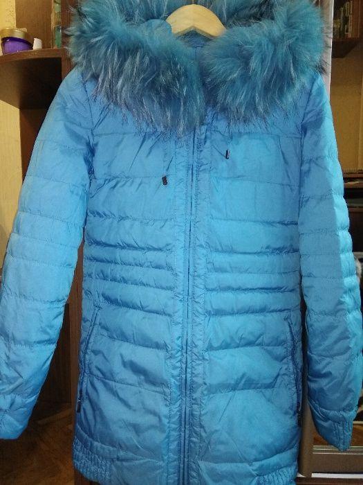 продам пальто для девочки 140-150 см Киев - изображение 1