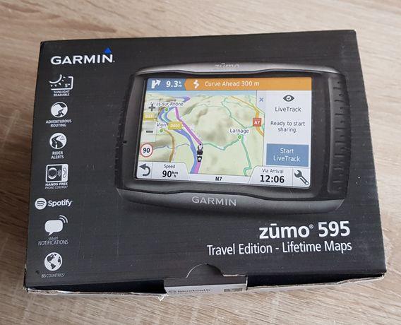 Nawigacja Garmin Zumo 595 + gratis ramka!