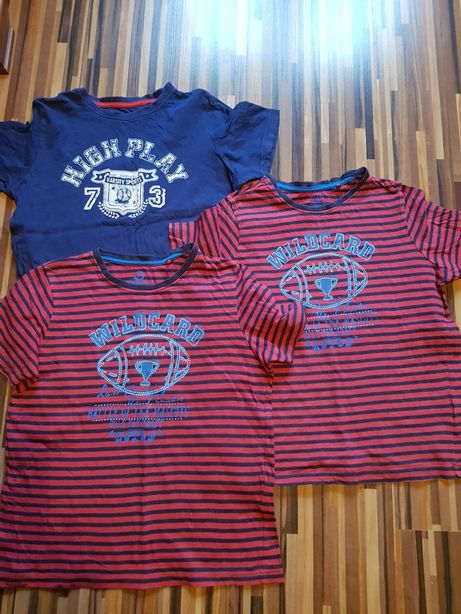 Trzy T-shirty dla chłopca