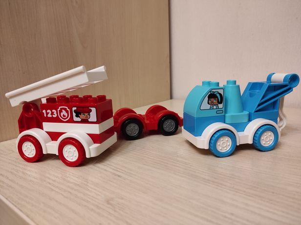 Lego Duplo Лего Дупло эвакуатор пожарная машина