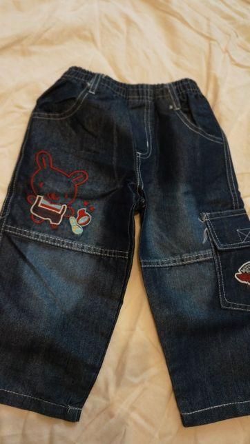 Джинси джинсы штаны на 1-1,5 года