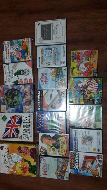 Zestaw gier edukacyjnych dla dzieci na komputer