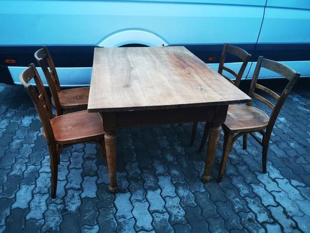 Stół z krzesłami z Niemiec antyk