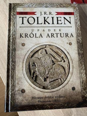 Upadek króla Artura J.R.R. Tolkien pierwsze polskie wydanie