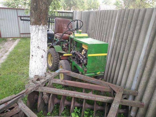 Трактор саморобний 4х4