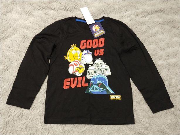 Bluzka długi rękaw Angry Birds 152 cm