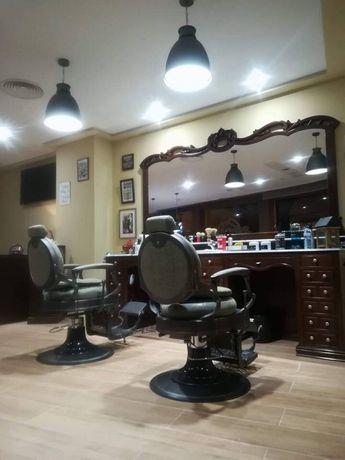 Mobiliario barbeiro barbearia